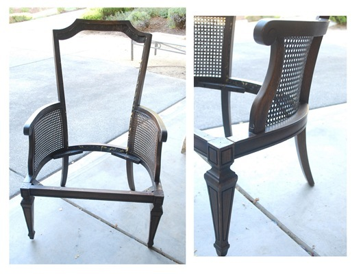 chair bare